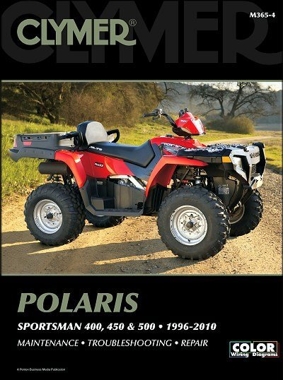 Книга: руководство / инструкция по ремонту и эксплуатации квадроциклов POLARIS SPORTSMAN 600 / 700 / 800 (2002-2010 годы выпуска)