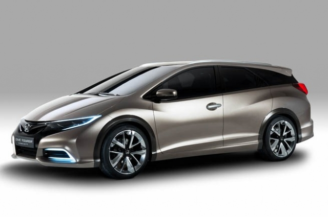 Honda Civic стал универсалом